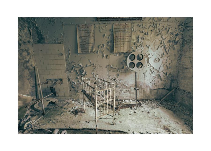 Припят - Родилно отделение в Болницата в Припят