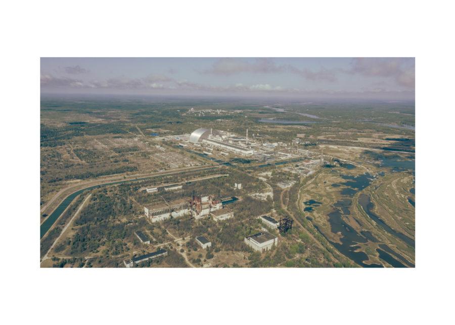 АЕЦ Чернобил - Поглед от високо
