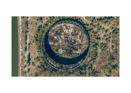 АЕЦ Чернобил - Една от незавършените охладителни кули